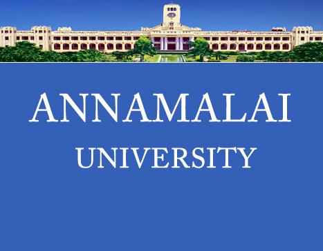 ANNAMALAI UNIVERSITY: